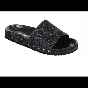 Shoes - Glitter Pool slippers
